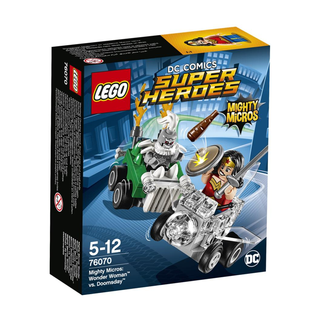 76070 LEGO® DC Comics Super Heroes Mighty Micros: Wonder Woman™ és Doomsday™ összecsapása